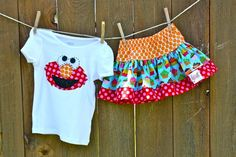 @Becky Washnock Campbell I could use some of the cupcake fabric I have for the capri's
