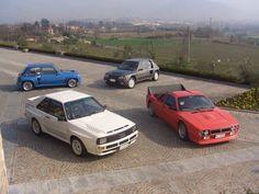 Group B road cars.