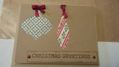 Check out this item in my Etsy shop https://www.etsy.com/listing/208711616/christmas-card-sets-kraft-christmas