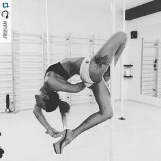 This trick looks awesome. Cool hand grip behind the back! #polewear #theoriginalpolewear @pleasershoes  #Repost @mhillar ・・・ #highheels #pleasureshoes #badkittypride #ig_poledance #power #flexibility #fitchicks #fitness #fun #polefit #polefun #poleflex #polelife #polelove #poledance  #poledancer  #polefitness #poleaddicted #poleprogress #poleathletics #poledancewear #poledancenation #poledancersofinstagram @verticalfitpoland @esensai #brazilianshorts  @pleasershoes @beng_danceshop…