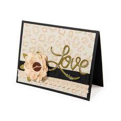 Love Animal Print Card