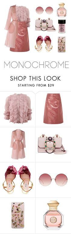 """Geen titel #217"" by jien ❤ liked on Polyvore featuring Givenchy, Bottega Veneta, MaxMara, Miu Miu, Linda Farrow, Tory Burch and Charlotte Russe"