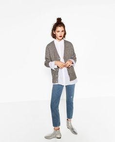 Image 5 of V-NECK JACKET from Zara