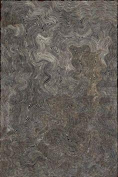 Warlimpirrnga Tjapaltjarri (Australian Aboriginal, b. c. 1958, east of Kiwirrkurra, Western Australia) - Wilkinkarra (Lake Mackay), 2006