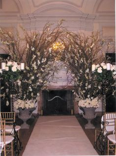 Flowers By Brian Offers Fl Decoration For Your Long Island Or Nyc Wedding Ceremony Arrangements Pinterest Decorations