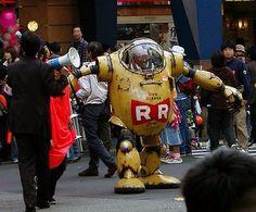 RR robot from Dragon Ball Robot Costume Diy, Robot Costumes, Cosplay Costumes, Geisha, Dbz, Dragon Ball Z, Robot Dragon, Steampunk Mechanic, Manga Dragon