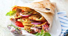 Lire la recette du kebab estival