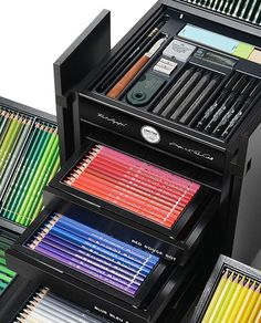 The KARLBOX, by Karl Lagerfeld and Faber-Castell, contains 350 drawing…