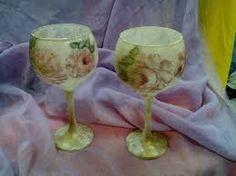Αποτέλεσμα εικόνας για ντεκουπαζ σε γυαλινο ποτηρι