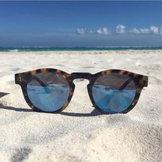 Take me to #Tulum...... new sunnies from @illesteva are in the shop, so at least we can pretend we're hitting the beach today 😎