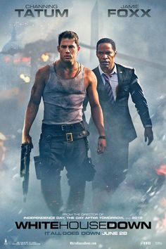 White house down. Such a good movie!!! Go see it!!!