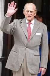 Prince Philip paid a visit to the town of Sandhurst in Berkshire, SE England 23 Apr 2013
