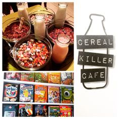 Cereal Killer Cafe. 149 Brick Lane, London.