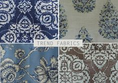 Gorgeous trend fabrics available at The Fabric House CT.