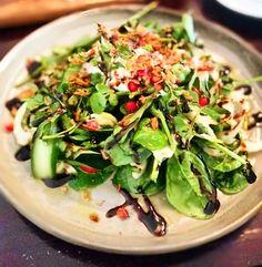 This radishes & bottarga with dijon vinaigrette salad reminds me of Vietnamese duck blood salad  #radish #salad #keto #lowcarb #chippendale #lpsqualitymeats by biscuitsandjam