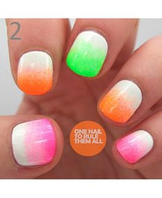 DIY nail art: 14 Summer-perfect manis to make a splash with Follow us on Instagram #ddgdaily