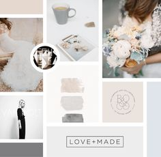 Branding mood board by Breanna Rose | How to create a mood board for your business | The Brand Stylist