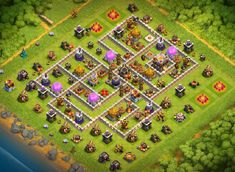 Best Farming Base Links** that can defend against queen Valk and Charge. Attacks Defended and Tones of Gold, Dark and Elixir saved. Clas Of Clan, Archer Queen, Nintendo Ds Pokemon, Clash Of Clans Game, Barbarian King, Video Game Memes, Pokemon Fusion, The Clash, Gaming Memes