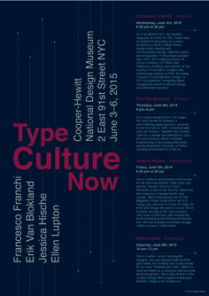 Poster _ Type Culture Now