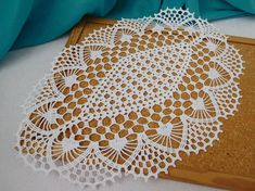 Beautifully patterned crochet white doily. Other colours also available on request. Its a great addition to your home, for an elegant and bright, colourful look. Have fun with displaying it on different special occasions and/or surprising your loved ones! You could use it for a