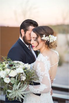 Classically Modern with a Kick of Southwest Stylized Bridal Shoot at The Paseo Venue in Apache Junction Phoenix Arizona by Unfading Beauty Photography | Bride and Groom | Bridal Session