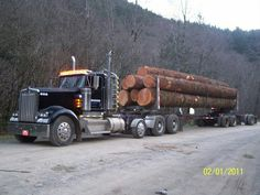 Randy hobgood kenworth log truck