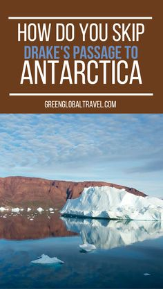 How do you get to Antarctica without crossing the drake passage? Read to find out! | Chartered Plane | Bucket List | Punta Arenas | Argentina | Santa Cruz | King George's Island | South Shetland Islands |