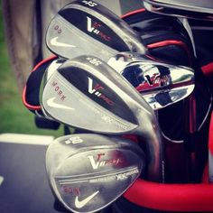 """January 3, 2013: """"Do. Work. Son. Stanley's wedges are always on call. #TeamNike,"""" said Nike Golf (@nikegolf) about new signee Kyle Stanley's encouragingly stamped wedges."""