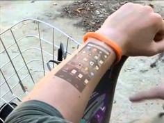 Cicret Bracelet - The Future is Now