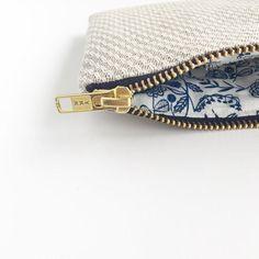 Sustainable coin purse Hays Organic Hemp and cotton purse