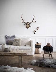 Variation sur un salon - Elle Décoration #decoration #salon #livingroom #interior