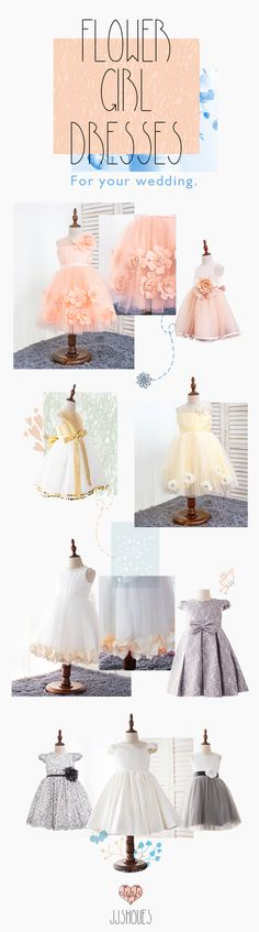 Flower Girl Dress for your Wedding #flowergirldress