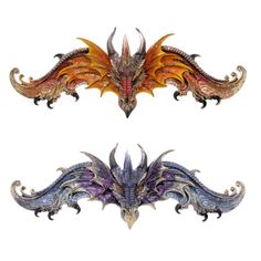 Fire and Ice Dragon Wall Plaque Fantasy Collectable Our fantasy and gothic dragon range are great entry level collectors items as they are well