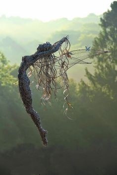 Eclectitude: Wire Fantasy Sculptures by Robin Wight