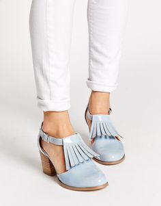 Discover women's shoes on sale at ASOS. Shop the latest collection of sneakers, heeled shoes, ankle boots and more, all on sale. Order at ASOS. Heeled Boots, Shoe Boots, Shoes Heels, Asos, Crazy Shoes, Me Too Shoes, Oxfords, Fashion Art, Fashion Shoes