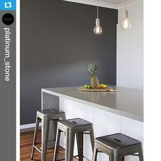 "36 Likes, 1 Comments - Caesarstone Australia (@caesarstoneau) on Instagram: ""#Repost @platinum_stone.・・・40mm @CaesarstoneAU Oyster Island Bench #GJGardenerHomes #KitchenIdeas…"""