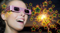 3D Brille Stern http://www.partyboxes.at/wunderkerzen/3d-brille-stern.html 3D Brille am besten bei Dunkelheit aufsetzen, in eine Lichtquelle wie Wunderkerze, Feuerzeug, Kerze, Halogenlampe etc. blicken und staunen.   Diese Brille ist aus Pappe mit 3D Stern Effekt ein ideale Geschenk zum Geburtstag oder als Mitbringsel zur Feier, Motto Party.