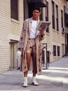 Hercules Universal - Spring/Summer 2016  Bruno Staub captures American boy Torin Verdone on the streets of New York for the SS16 issue of Hercules Universal.  The Calvin Klein Jeans FW15 campaign star wears 70s menswear styles by the likes of Gucci, Emporio Armani, Dolce & Gabbana, Saint Laurent, and Dior Homme, styled by David Vivirido.