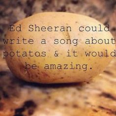 A song for Lacy - I love you, danni! You know me so well! -i love you too! Enjoy your nonexisiting song about potatos haha