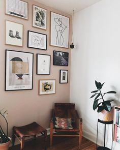 Home Decor 2019 and rustic home interior Interior Walls, Home Interior, Interior Design Living Room, Living Room Designs, Inspiration Wall, Interior Inspiration, Room Decor Bedroom, Living Room Decor, Decor Scandinavian