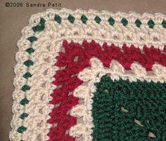 Borders / Edging Your Work ~ good, basic instructions for over a dozen different edgings.    . . . .   ღTrish W ~ http://www.pinterest.com/trishw/  . . . .   #crochet