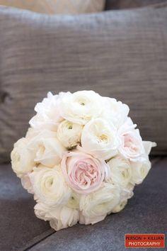 White Bridal Bouquet, Traditional Bridal Bouquet