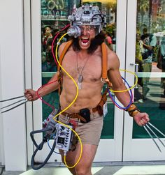Weapon X cosplay.
