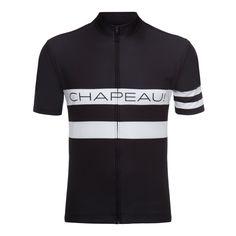 Etape Jersey Race Stripe Black / White