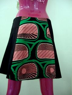 The Billie Spring Cotton Skirt Beautiful Black by supersmallfry, $52.00