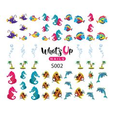 Whats Up Nails - S002 Ocean Bottom