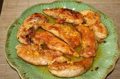 poulet au miel et à l'orange Salt N Pepa, Jus D'orange, Shrimp, Meat, Food, Honey Chicken, Recipe, Kitchens, Beef