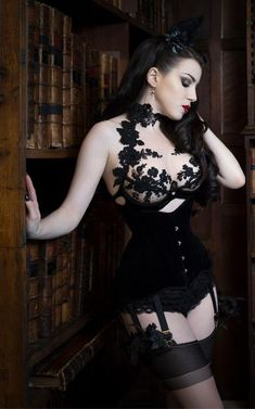 bonjourlecorset: martysimone: Cristina Aielli Luxury Lingerie Photo Tigz Rice Studios Model Threnody In Velvet Bonjour le corset See other corsets on your Android phone with Bonjour Android Belle Lingerie, Lingerie Pin Up, Lingerie Vintage, Lingerie Photos, Luxury Lingerie, Goth Beauty, Dark Beauty, Chica Dark, Gothic Mode