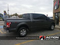 2016 F150 From our store in London, ON - Side Exit Exhaust by MBRP Performance Exhaust - Fender Liners by Husky Liners - In-channel Vent Visors by AVS - Trifecta tonneau cover by Extang #ProfessionalGradeInstallation
