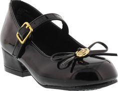 809007df230e59 Your toddler will step into style with these durable shoes. Fixed bow make  these shoes